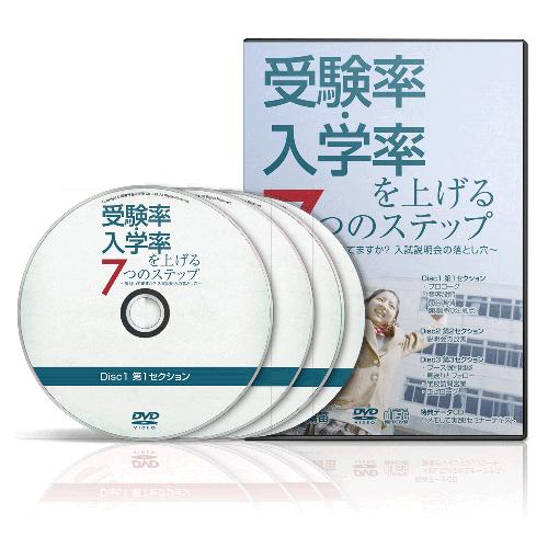 受験率・入学率を上げる7つのステップ│医療情報研究所DVD