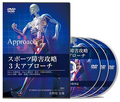 スポーツ障害攻略3大アプローチ│医療情報研究所DVD